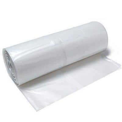 10 ft. x 100 ft. 6 mil Clear Plastic Sheeting