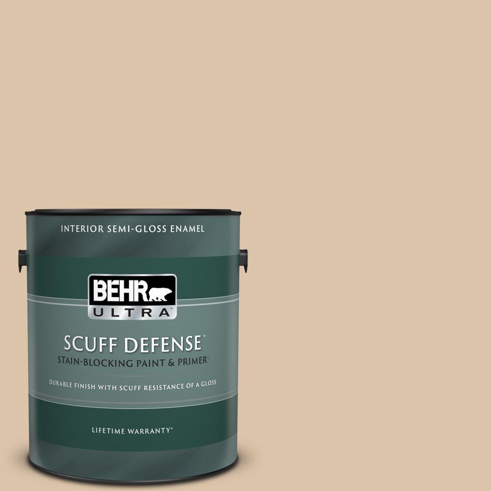 1 gal. #PPU4-08 Plateau Extra Durable Semi-Gloss Enamel Interior Paint & Primer