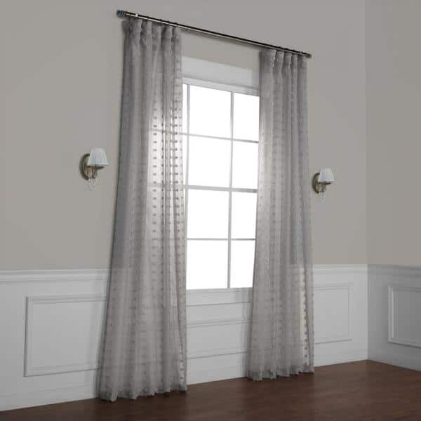 Exclusive Fabrics Furnishings, Sheer Patterned Curtains Nz