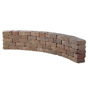 9 ft. Desert Riverland Seat Wall