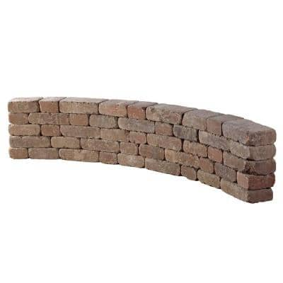 9 ft. Desert Riverland Seat Wall