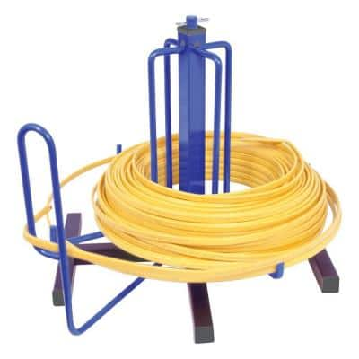 Wire Smart Cable Dispenser, Floor or Stud Mounted