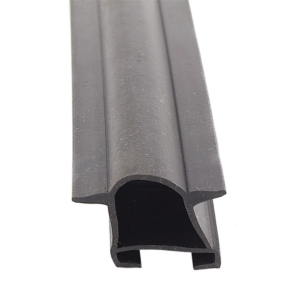 EK Slide-On D Seal with Fins - Black