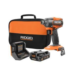 18V Brushless Cordless 3-Speed 1/4 in. Impact Driver Kit with 2.0 Ah MAX Output Battery and 18V Charger