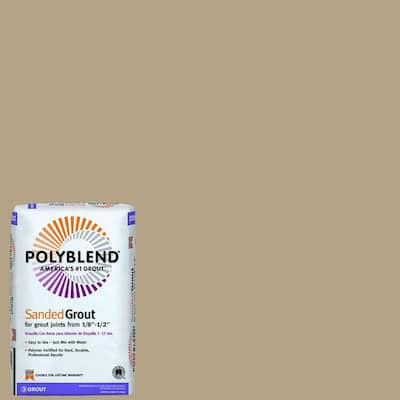 Polyblend #380 Haystack 25 lb. Sanded Grout