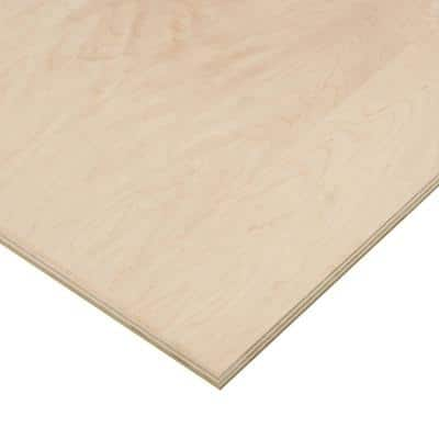 3/4 in. x 4 ft. x 8 ft. PureBond Maple Plywood