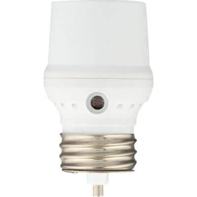 Dusk-to-Dawn Light Control for CFL - White