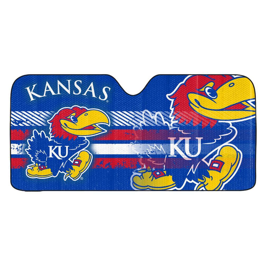 University of Kansas Windshield Sun Shade