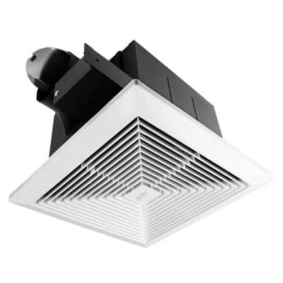 Ultra-Quiet 90 CFM, 0.8 Sone Bathroom Ventilation and Exhaust Fan