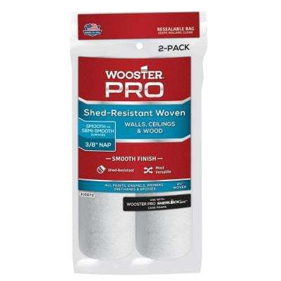 4-1/2 in. x 3/8 in. High-Density Pro Woven Cage Frame Roller (2-Pack)