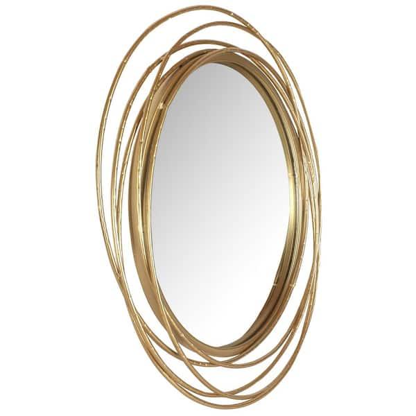 Mirrorize Canada 27 5 In Dia Framed, Round Wall Decor Canada