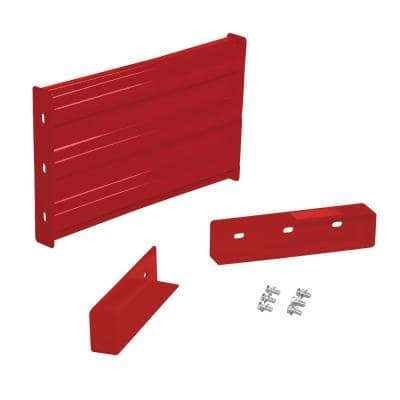 2 ft. Red Drop-in. Style Guardrail