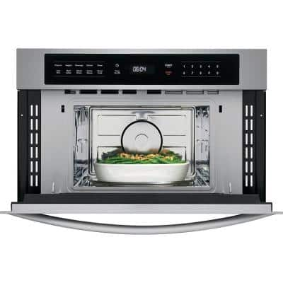 1.6 cu. ft. Built in Microwave in Stainless Steel with Drop Down Door