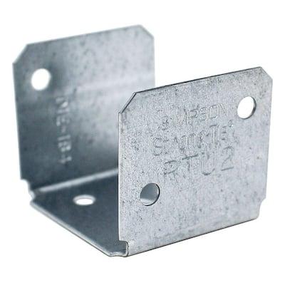 RTU 18-Gauge Galvanized Rigid Tie Connector for 2x Nominal Lumber
