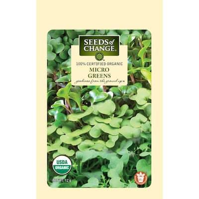 Micro Greens - Mild Mix Organic Seed