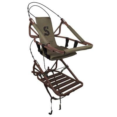 Viper Steel Lightweight Self Climbing Single Seat Deer Hunting Treestand