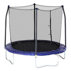 8 ft. Round Trampoline with Enclosure in Blue