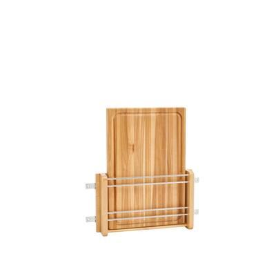 16.438 in. H x 13.5 in. W x 2.8 in. D Cabinet Door Mount Wood Cutting Board