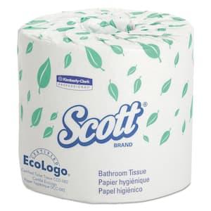 4.1 in. x 4 in. Sheet Standard Bathroom Tissue 2-Ply (20 Rolls)