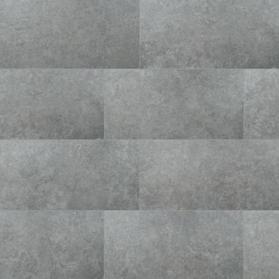 Lunar Silver 24 in. x 48 in. Matte Porcelain Paver (7-Pieces / 56 sq. ft./pallet)