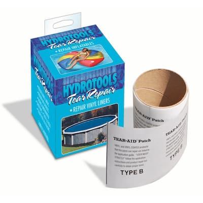 8850 Tear-Aid Underwater Vinyl Swimming Pool Liner Repair Patch Tape