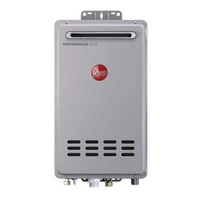 Performance Plus 9.5 GPM Liquid Propane Outdoor Tankless Water Heater