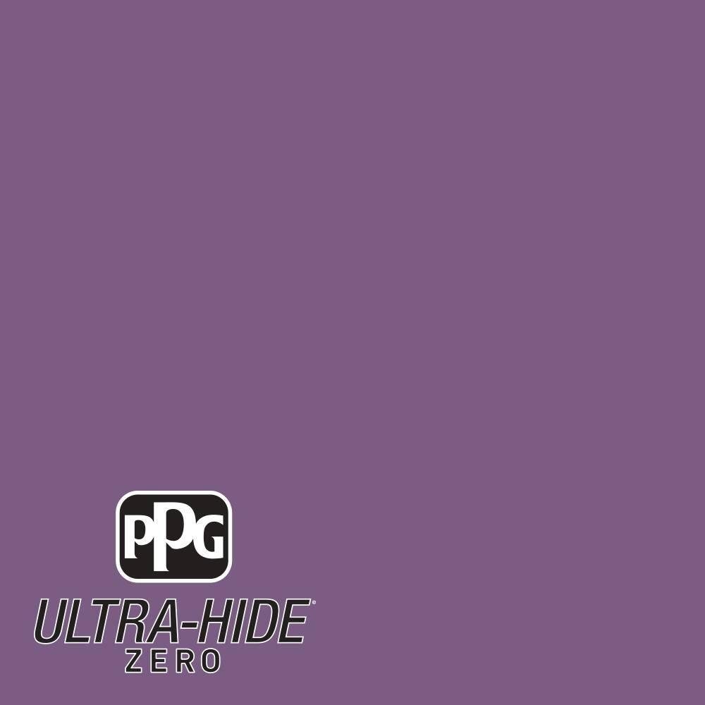 PPG 1 gal. #HDPV60 Ultra-Hide Zero Amethyst Jewel Semi-Gloss Interior Paint