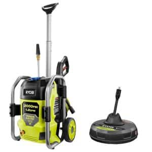 2000 PSI 1.2 GPM Cold Water Electric Pressure Washer with Surface Cleaner