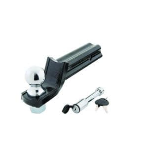Class 3 5000 lb. ''X'' Mount Starter Kit with 2 in. Ball, 5/8 in. Locking Pin, 2 in. Drop x 3/4 in. Rise Ball Mount