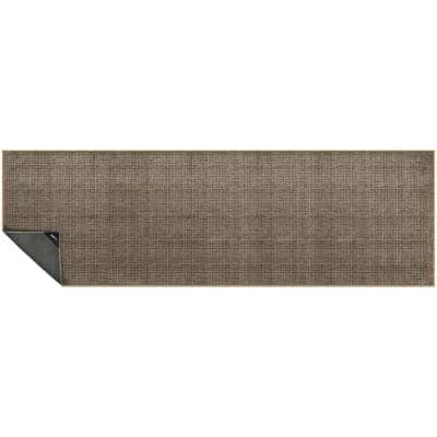Nevermove Wheaton Birch 2 ft. x 6.3 ft. Machine-Washable Polyester Designer Accent Area Rug with GellyGrippers