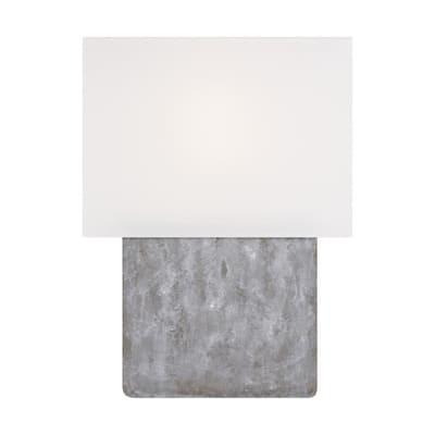 21.125 in. Grey Weathered Steel Table Lamp ED Ellen DeGeneres Crafted By Generation Lighting Brody