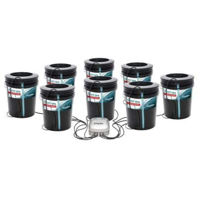 Active Aqua Root Spa 5 Gal. 8-Bucket Deep Water Culture System