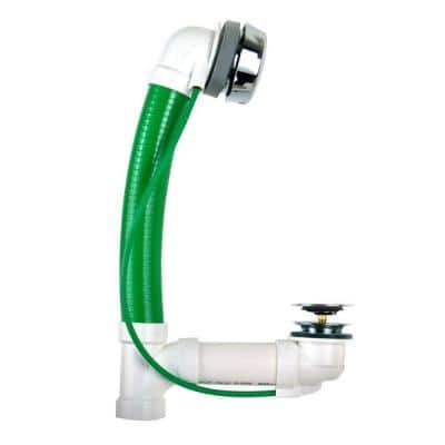 Innovator CableFlex 938 34 in. Flexible PVC Bath Waste in Chrome Plated