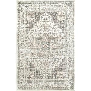 Vintage Tanith Cream 11 ft. x 14 ft. 6 in. Area Rug