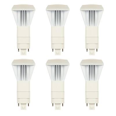 26-Watt Equivalent VPL Vertical Direct Install Dimmable 4000K G24Q/GX24Q 4-Pin LED Light Bulb (6-Pack)