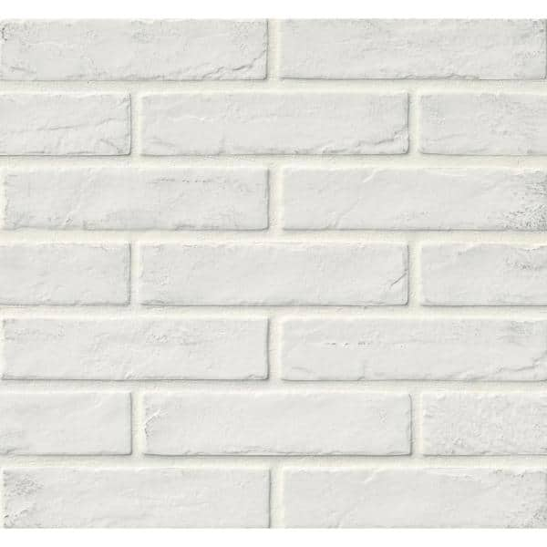 https www homedepot com p msi capella white brick 2 1 3 in x 10 in matte porcelain floor and wall tile 5 17 sq ft case ncapwhibri2x10 302073572