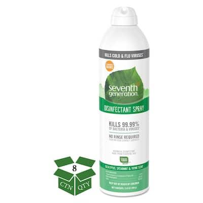 13.9 oz. Eucalyptus/Spearmint/Thyme Disinfectant Aerosol Sprays Spray (8-Count)