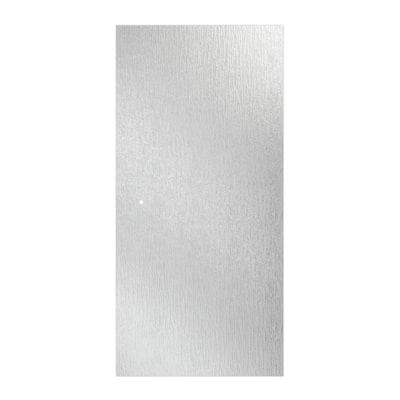 30-3/8 in. x 63-1/8 in. x 1/4 in. (6 mm) Frameless Pivot Shower Door Glass Panel in Rain (For 33-36 in. Doors)
