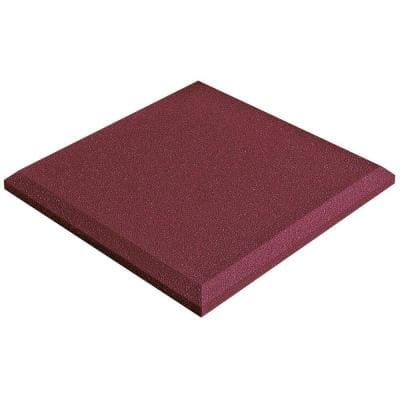 Auralex SonoFlat Panels - 2 ft. W x 2 ft. L x 2 in. H - Burgundy (16-Box)