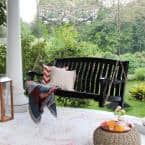 Bonn Solid Wood Porch Swing