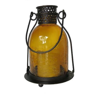 Monaco Glass LED Candle Lantern