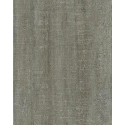 Roughcut Lumber Greige 4 in. x 36 in. Peel and Stick Wall and Floor Luxury Vinyl Planks (20 sq. ft./case)