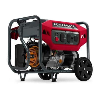 PM7500 6000 Running Watt Manual Start Gasoline Powered Portable Generator, 49 ST/CSA