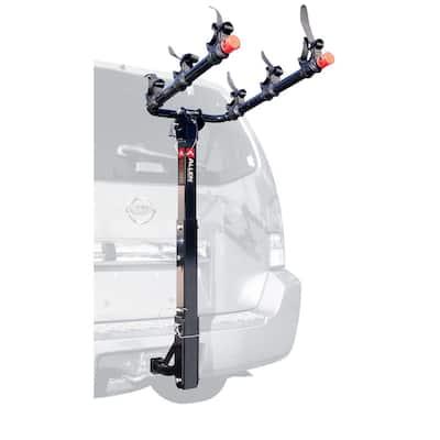 105 lbs. Capacity 3-Bike Vehicle 2 in.and 1.25 in. Hitch Bike Rack