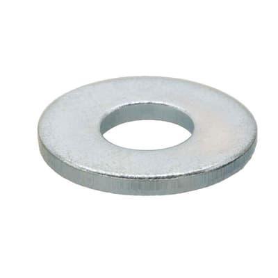 9/16 in. Zinc Flat Washer (25-Pack)