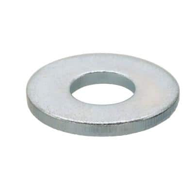 2.5 mm Zinc Metric Flat Washer (5-Piece)