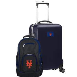 New York Mets Deluxe 2-Piece Backpack and Carry on Set