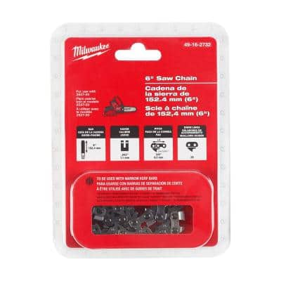 6 in. Pruning Saw Chain with 28 Drive Links