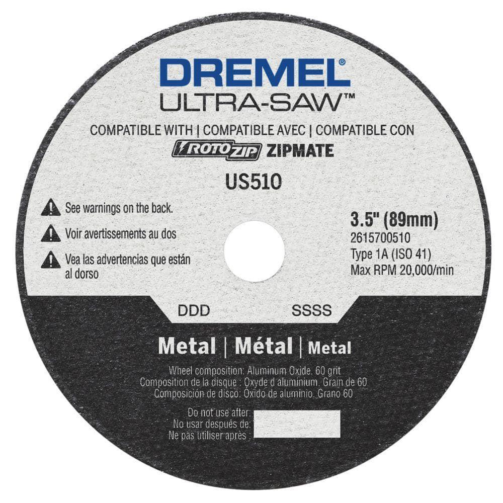 Dremel Ultra-Saw 3-1/2 in. Cutting Wheel for Metal