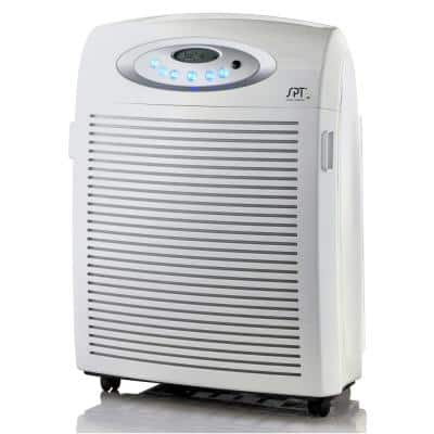 DC-Motor Air Purifier with Plasma, HEPA and VOC